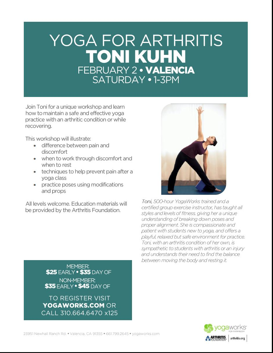I Am Teaching This Workshop At Yoga Works In Valencia On Saturday February 2 2013 To Sign Up You Can Visit Yogaworks Or Call 313 664 6470 X 125