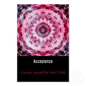 acceptance sign
