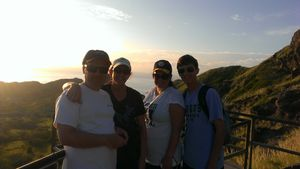 Top of Diamond Head